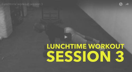 Lunchtime Workout Video 3 of 3