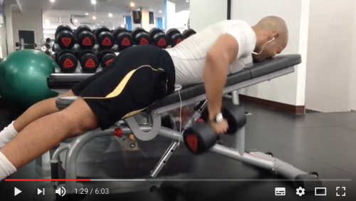 Try This Chest, Back & Tricep Session