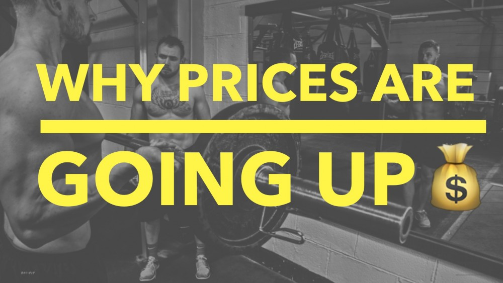 Why Prices Are Going Up