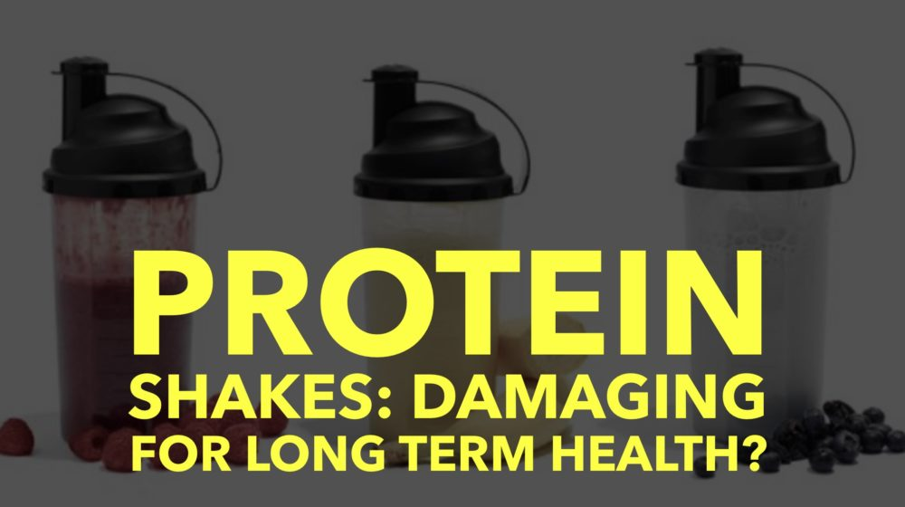 Protein Shakes: Damaging for you long term?