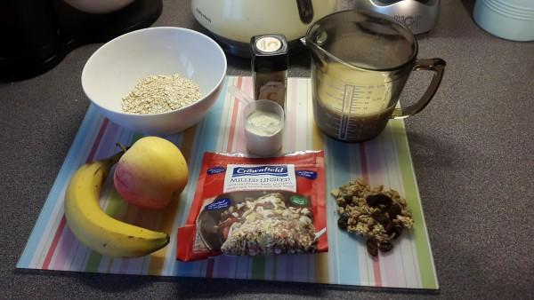 Bulking Breakfast – Protein oats with a twist