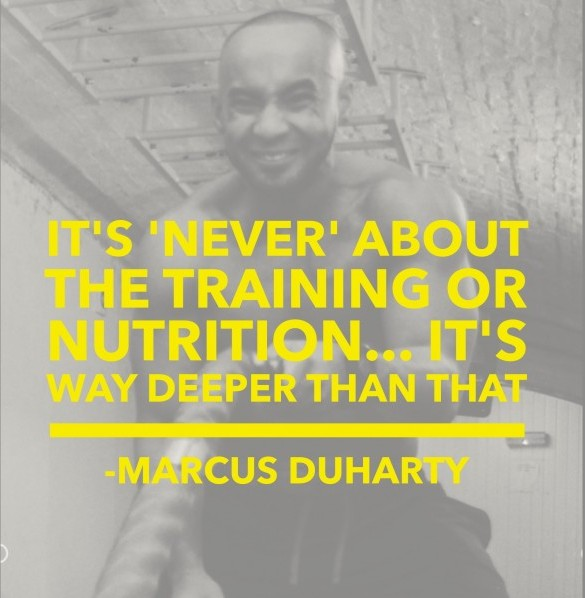 It's NEVER about the Training & Nutrition