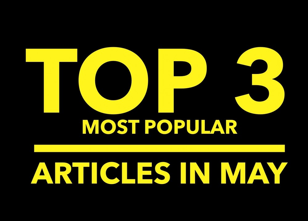 Top 3 Articles from May 2016