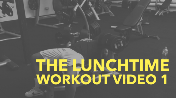 The LunchTime Workout Video Series