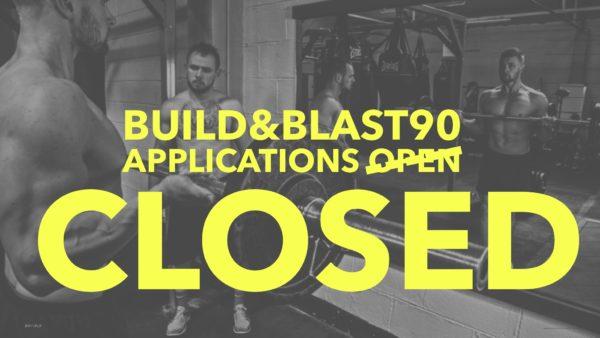 Build&Blast90: CLOSED